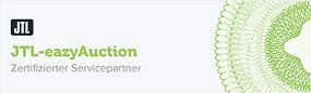 Logo für zertifizierter JTL-Servicepartner JTL-eazyAuction