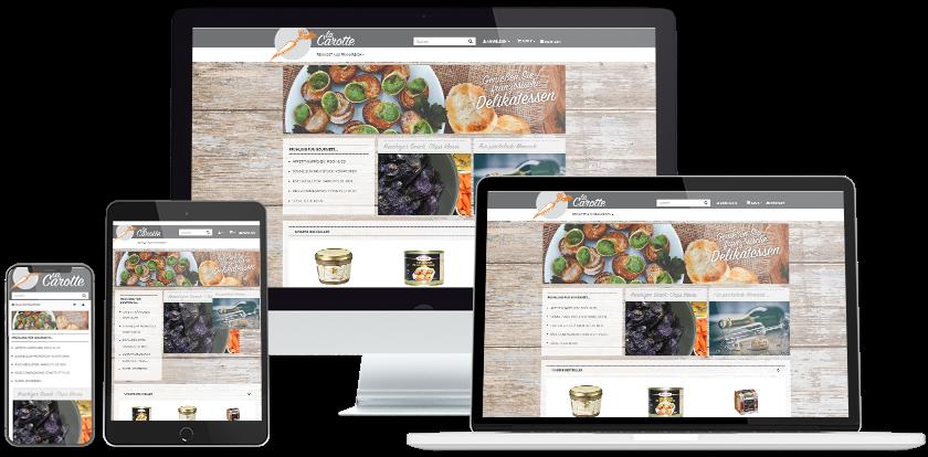 La Carotte Online-Shop Übersicht