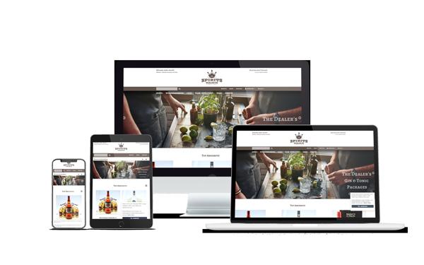 Spiritsdealer Online-Shop Übersicht