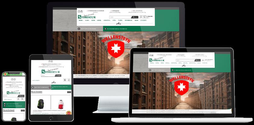 Stordeur Online-Shop Übersicht