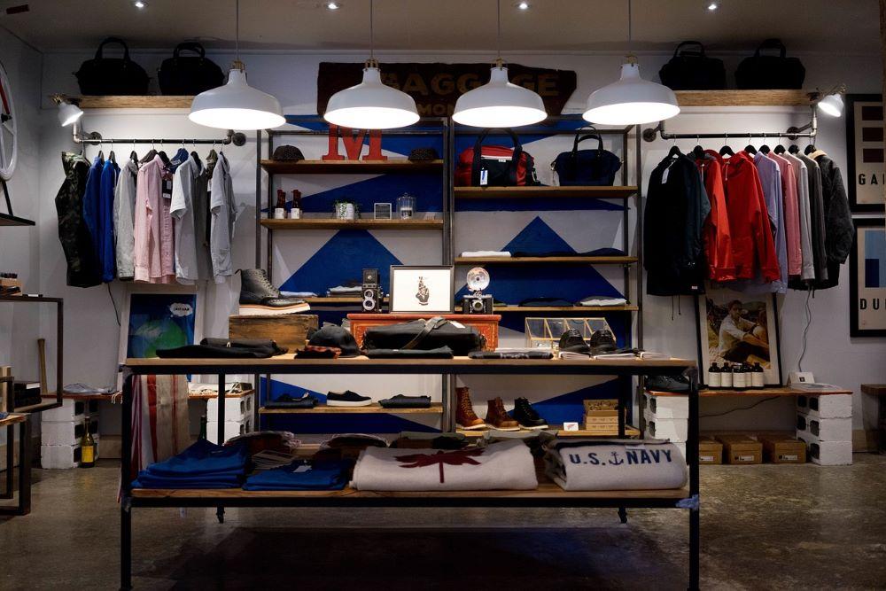 Ladengeschäft für Herrenkleidung und Mode